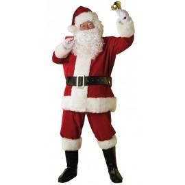 Déguisement Père Noël Luxe adulte Santa Claus