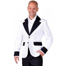 Déguisement veste blanche homme luxe