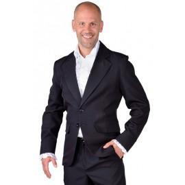 Déguisement veste noire homme luxe