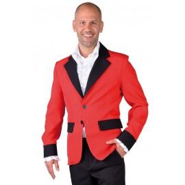 Déguisement veste rouge homme luxe
