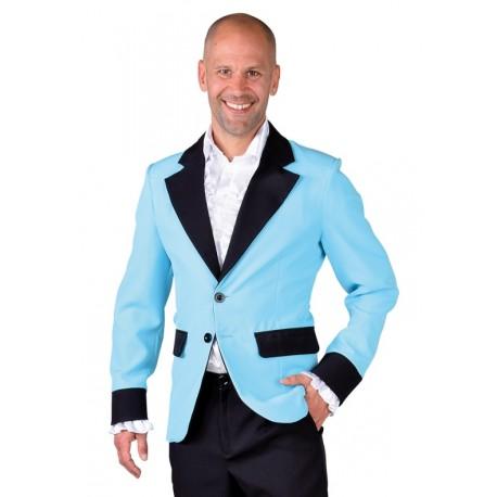 Déguisement Veste Turquoise Homme Veste Colbert Bleu Veste Costume