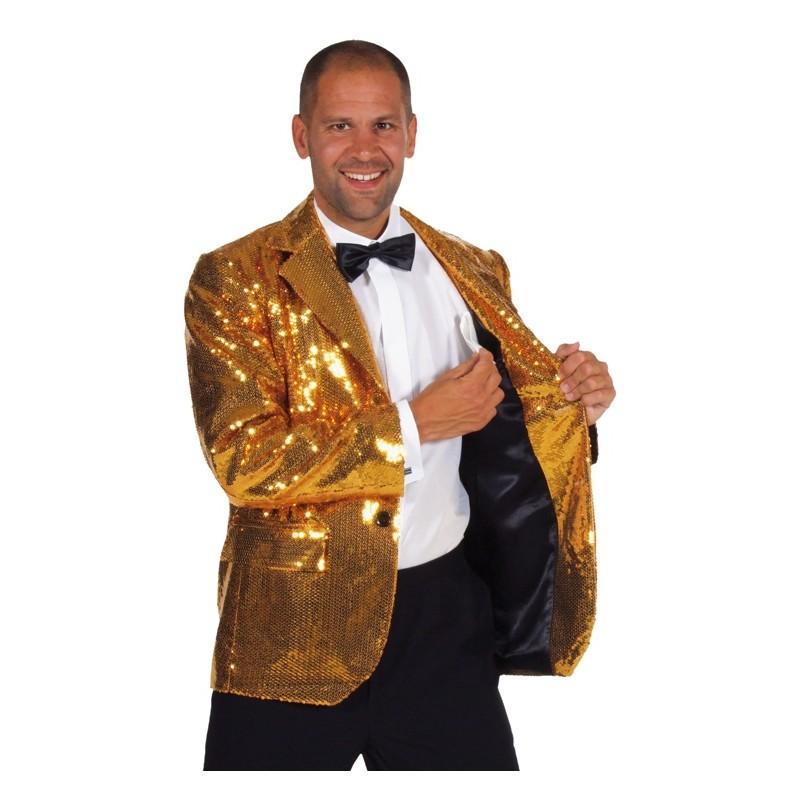 695d8d20abb90 Déguisement Veste paillettes sequin argent homme   Veste de Costume