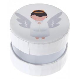 Boîte à dragées ange blanche les 6