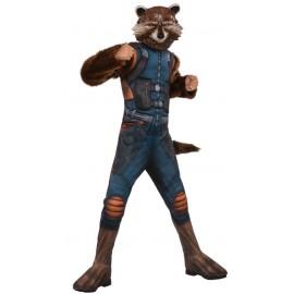 Déguisement Rocket Raccoon garçon luxe Les Gardiens de la galaxie