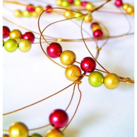 Guirlande perle or 1 M