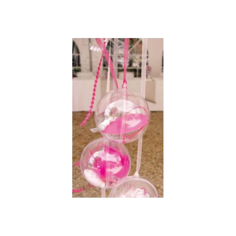 Boule transparente 8 cm boule plexi boule plastique - Boule gonflable transparente ...