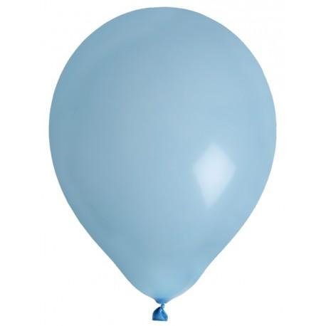 Ballons Bleu Ciel En Latex 23 Cm X8 Ballon Bleu Ballons De Baudruche