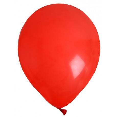 Ballons en latex rouge 23 cm les 8