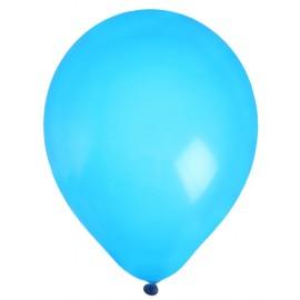 Ballons en latex turquoise 23 cm les 8