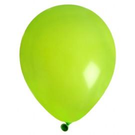 Ballons en latex vert 23 cm les 8