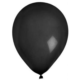 Ballons en latex noir 23 cm les 8