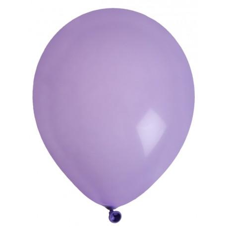 Ballons en latex parme 23 cm les 8