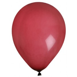 Ballons bordeaux en latex 23 cm les 8