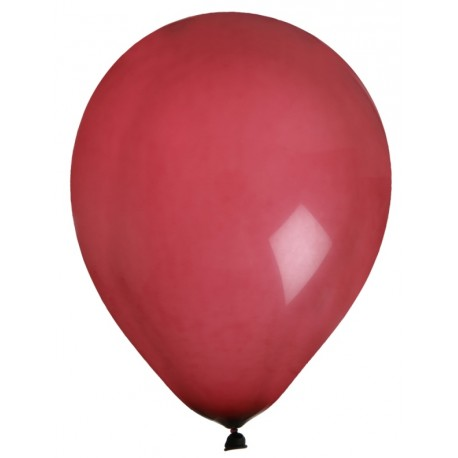 Ballons bordeaux en latex 23 cm les 8