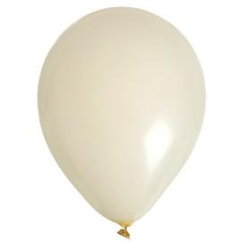 Ballons ivoire en latex 23 cm les 8