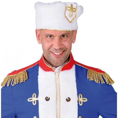 chapeau cosaque russe homme luxe chapeau cosaque blanc adulte russie. Black Bedroom Furniture Sets. Home Design Ideas