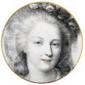 Assiettes carton Versailles la reine 22.5 cm les 10