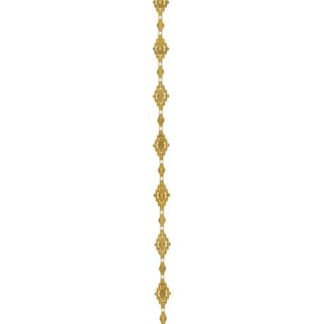Guirlande Versailles or décorative 200 cm