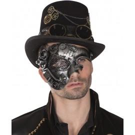 Demi-masque Steampunk homme