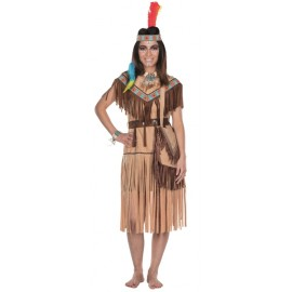 Déguisement indienne Cherokee femme