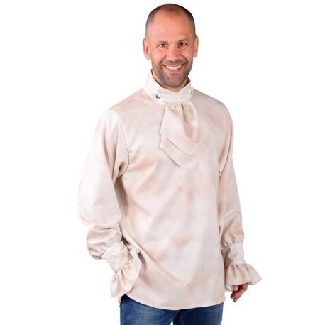 Déguisement chemise dirty crème homme luxe