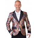 Déguisement veste brocart paisley homme luxe