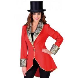 Déguisement manteau rouge femme luxe