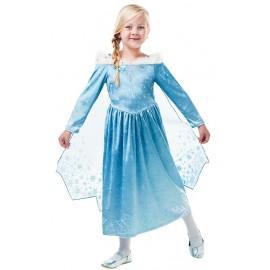 Déguisement Elsa reine des neiges fille luxe