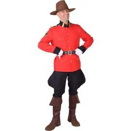 Déguisement police montée Canada homme luxe