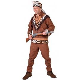 Déguisement Davy Crockett homme luxe