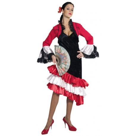 Coiffure Espagnole Femme Flamenco Coupe De Cheveux A La Mode