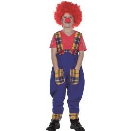 Déguisement pantalon de clown enfant