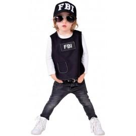 Déguisement Gilet FBI bébé luxe