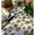 Chemin de table Jungle Tropical coton 3 M