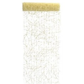 Chemin de table sisal ivoire 5 M