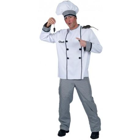Déguisement chef cuisinier homme