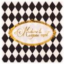 Petites serviettes de table Versailles papier les 20