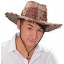 Chapeau cowboy patchwork adulte