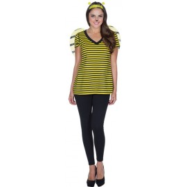 Déguisement T-Shirt abeille femme