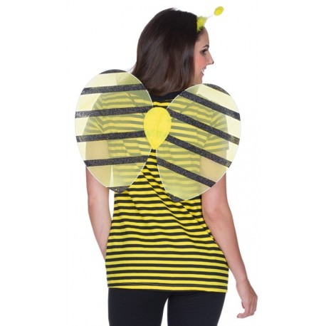 Set accessoires abeille adulte