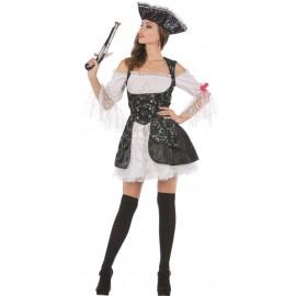 Déguisement pirate lady femme