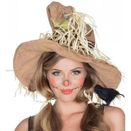 Chapeau épouvantail femme