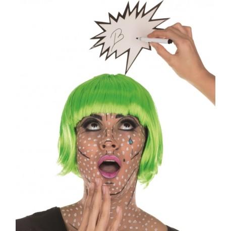 Serre-tête Pop art femme