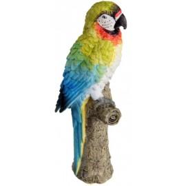 Perroquet décoratif en résine