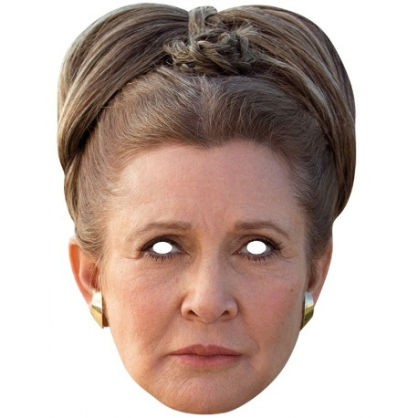Masque carton Princesse Leia Star Wars
