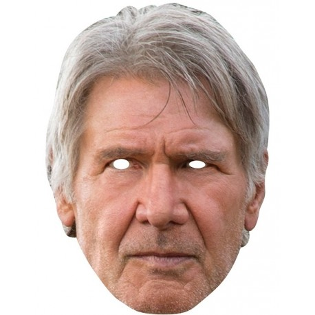 Masque carton Han Solo Star Wars