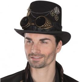 Chapeau haut de forme steampunk homme