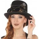 Chapeau haut de forme steampunk femme