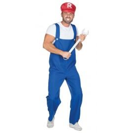 Déguisement plombier homme
