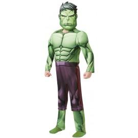 Déguisement Hulk garçon Avengers luxe